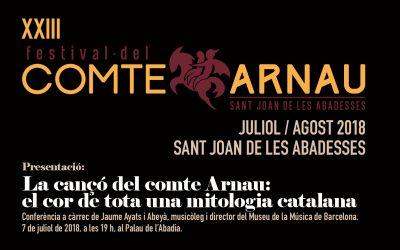 Arrenca el 23è Festival del Comte Arnau