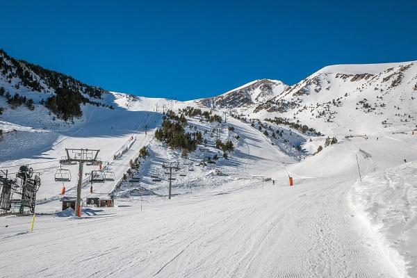 És temps d'esquí a Mas Guanter