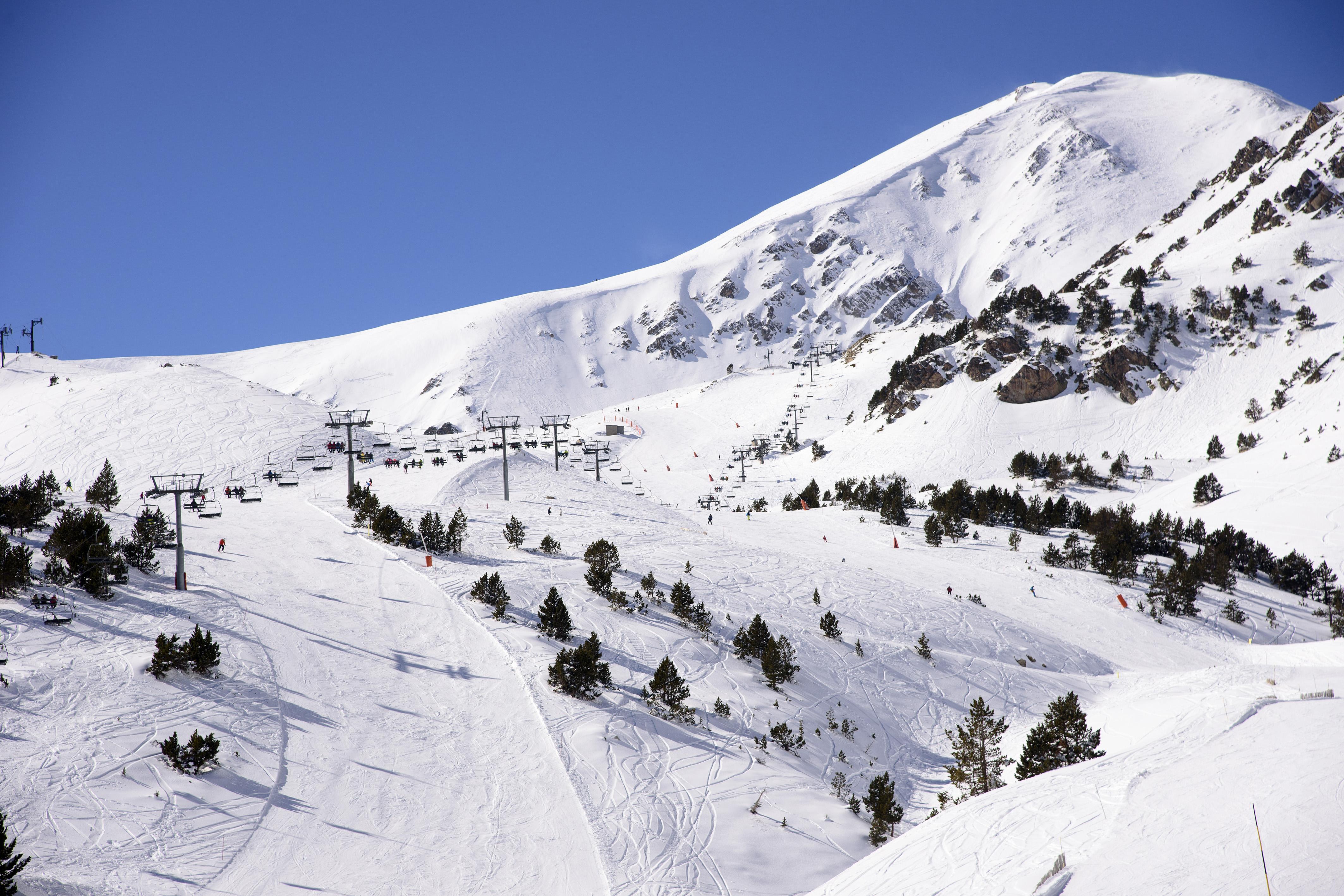 Temporada d'esquí a Mas Guanter